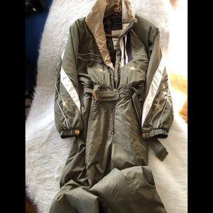 RARE Bogner Vintage Shoe stopper ski suit size 12